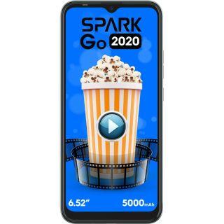 Tecno Spark Go 2020 (Aqua Blue, 2 GB, 32 GB)