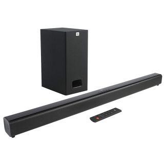 JBL Cinema SB130 2.1 Channel Soundbar with Wired Subwoofer (Black)