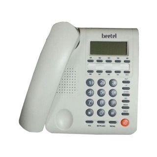 Beetel M59 Corded Landline Phone  (Off White)
