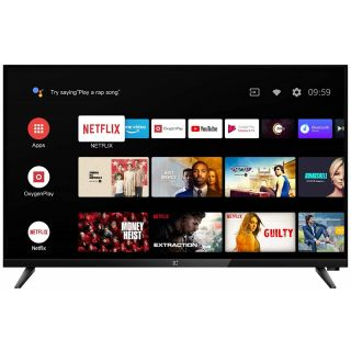 OnePlus Y Series 32 inches HD Ready LED Smart Android TV (Black)