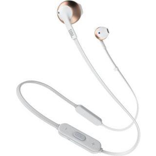 JBL T205BT Bluetooth Headset (Rose Gold)