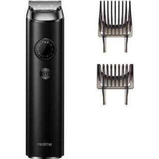 Realme RMH2017 Beard Trimmer Plus Runtime: 120 mins Trimmer for Men  (Black)