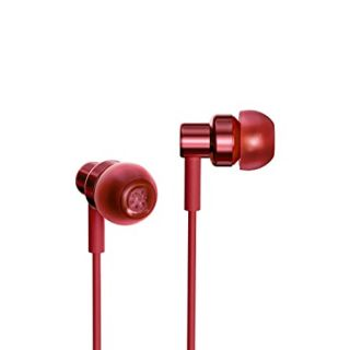 Redmi BHR4207IN Wired Earphone (Red)