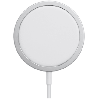 APPLE MagSafe MHXH3ZM/A Charging Pad (White)