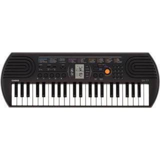 Casio SA-77 44 Mini Keys Keyboard (Black)