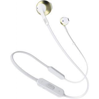 JBL T205BT Bluetooth Headset (Gold)