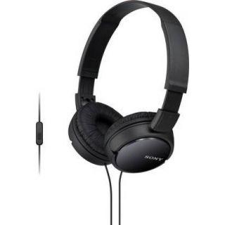 SONY ZX110AP Wired Headset (Black)