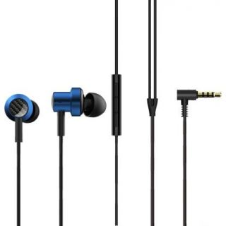 Mi Dual Driver Wired Headset  (Blue)