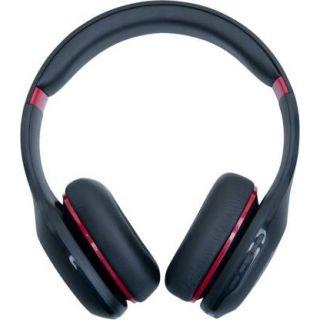 Mi Super Bass On-Ear Wireless Headphones with Mic (Black & Red)